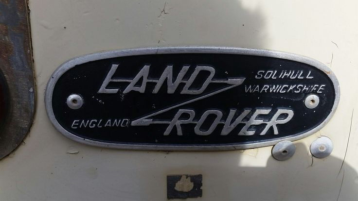 The neatest solihull badge I have seen on a unrestored land rover of this age.