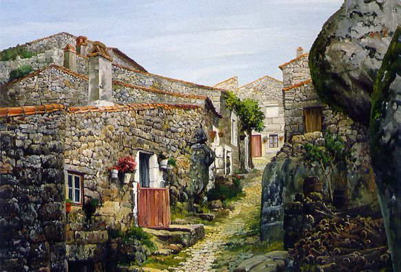 old village in Portugal.