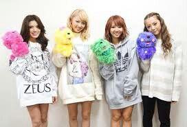 Erie, Ami, Aya, Shizuka - Dream