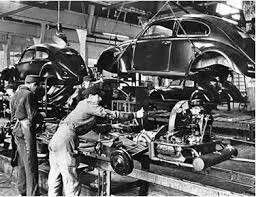 1940 KdF-Wagen assembly line