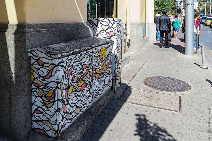 Стрит-арт и граффити твоего города - София (Болгария). Часть 2.