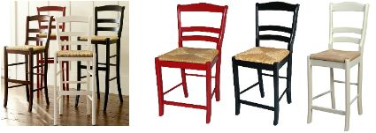 Knockout Knockoffs: Bar Stools from Pottery Barn, Ballard Designs, and Crate & Barrel