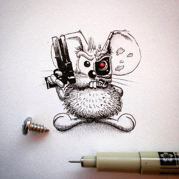mouse by apredart