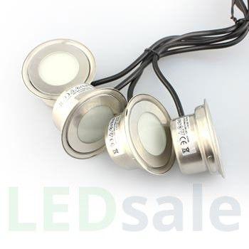 6-Pack Round LED Decklight