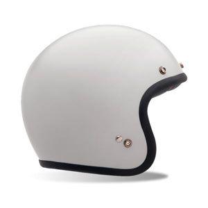 Bell Custom 500 helmet - vintage white