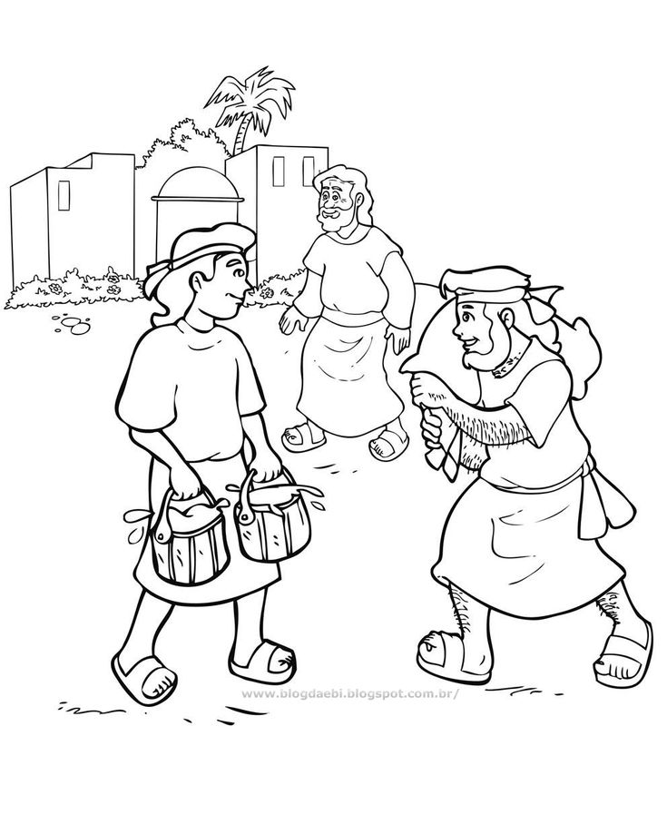 52 best images about bible kids jacob and esau on pinterest for Esau and jacob coloring pages