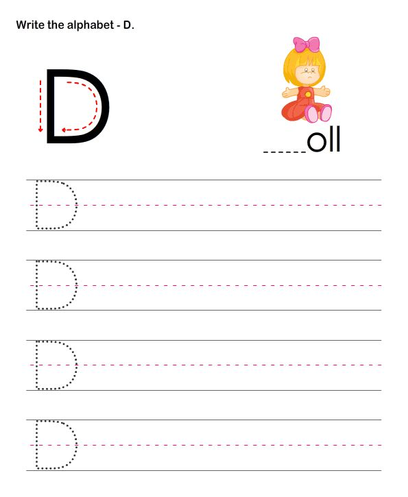capital letters d esl efl worksheets preschool worksheets educational worksheets for kids. Black Bedroom Furniture Sets. Home Design Ideas