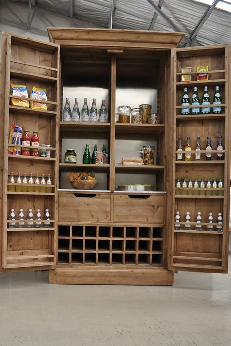 pantry cabinet- I need the storage space!!!