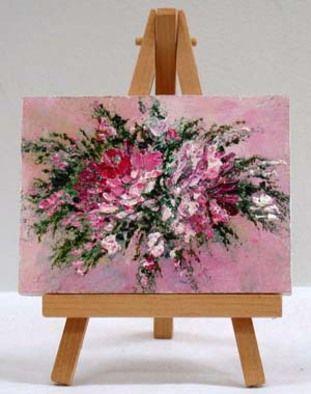 Valda Fitzpatrick Pink Flowers absolutearts.com