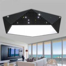 Геометрические потолочные светильники личности детей детская спальня свет исследование лампы ПРИВЕЛО гостиная лампы ресторан проход освещение