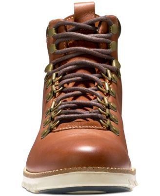 Cole Haan Men's Zero Grand Hiker Water-Resistant Ii Boots - Brown 10.5