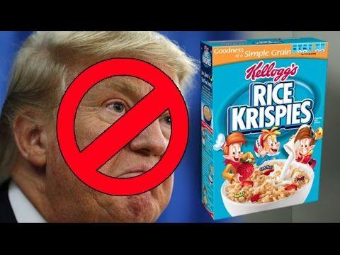 Kellogg's Hates Conservatives - Cereal Company's Disturbing Discrimination - YouTube