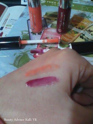 Lip gloss και βάλσαμο 2σε1