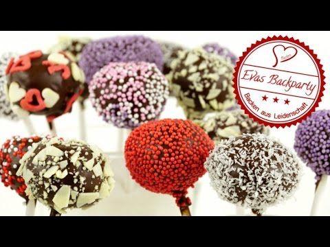 Cake Pops / Cookie Dough / Kuchen am Stiel aus Plätzchenteig / Ohne Backen