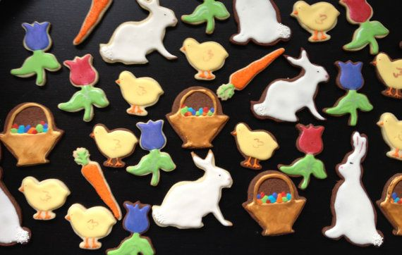 Assorted Easter Cookies