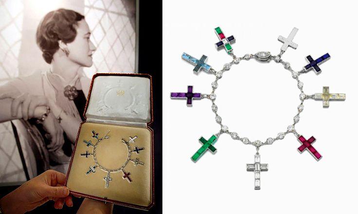 Duchess of Windsor's charm bracelet www.ledile.ru. #interdema #charms #jewels #bracelets #charmbracelets