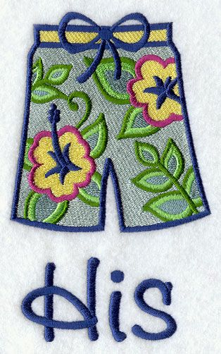 Machine Embroidery Designs at Embroidery Library! - Color Change - H3851 2 sizes