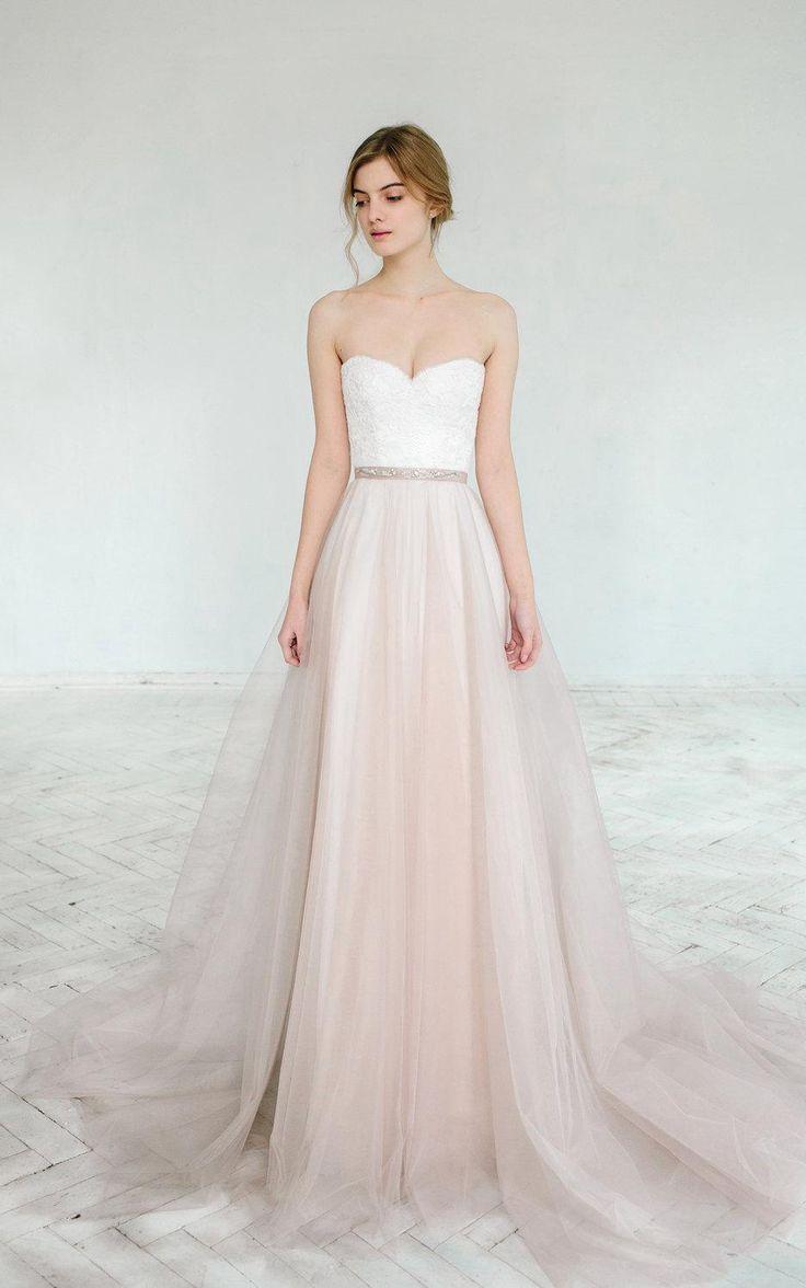 best vestido novia images on Pinterest Bridal gowns Wedding