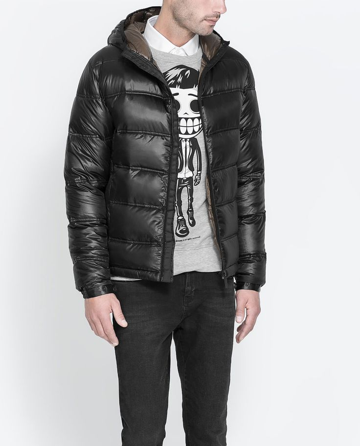 12 best Clothing images on Pinterest | Zara man, Man coat and ... : zara mens quilted jacket - Adamdwight.com
