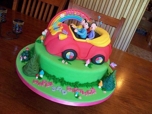 Wiggles Big Red Car cake