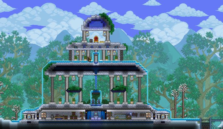 233 Best Terraria Building Inspiration Images On Pinterest