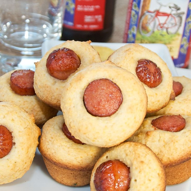 Mini Corn Dog Muffins Rita's Notes: Made these Sept. 2013; great ...