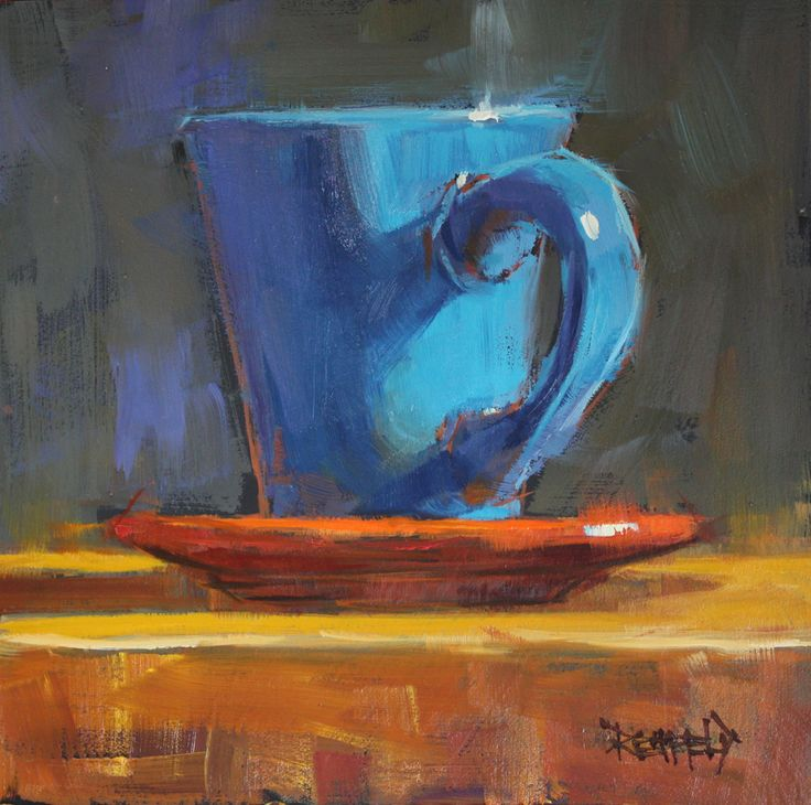Life Acrylic Coffee Still Paintings