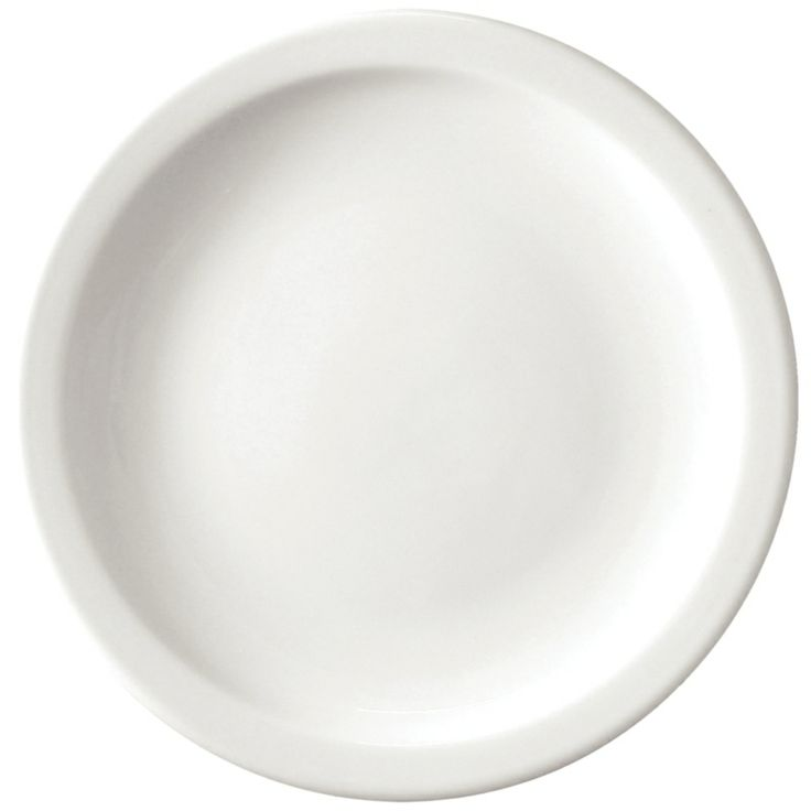 Athena Hotelware Narrow Rimmed Plates 205mm - Buy Online at Nisbets
