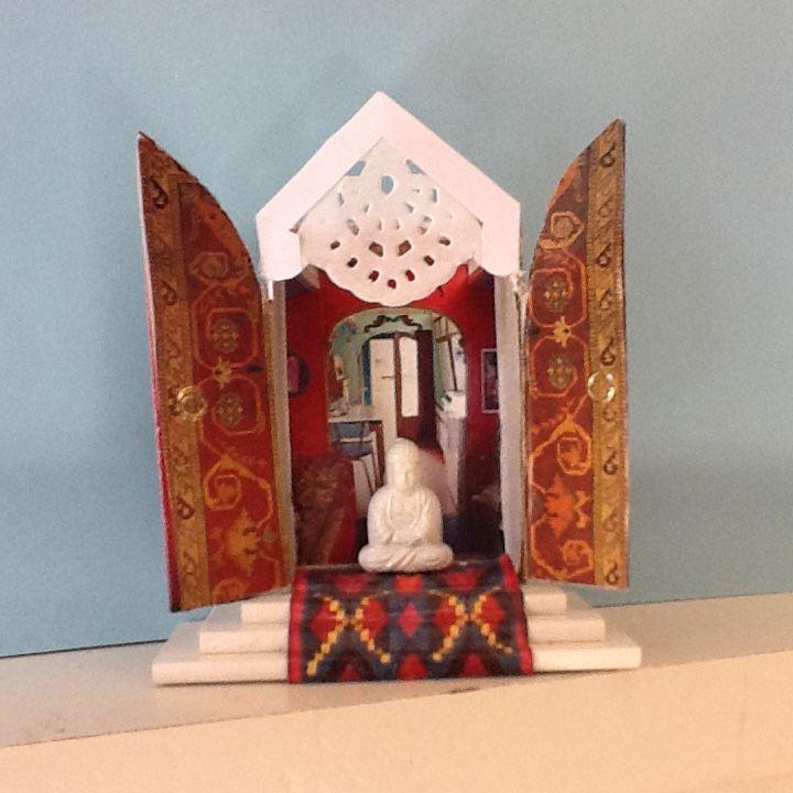 Miniatuur tempel voor Tonnie
