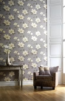 Arthouse Sophie Conran Magnolia Wallpaper Stone 612405