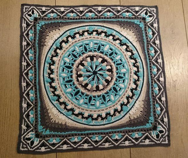 Ravelry dandelion border overlay crochet pattern by for Pattern overlay