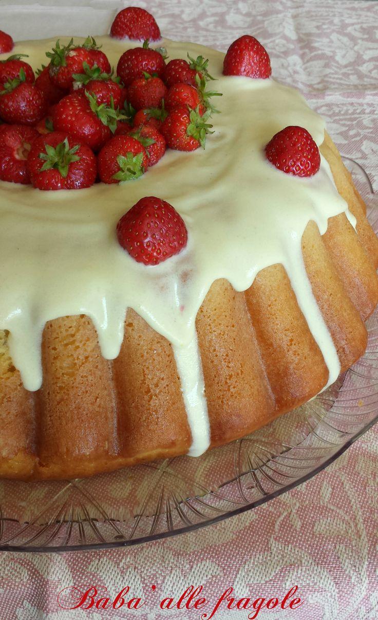 Babà alle fragole, ricetta dolce lievitata | Il mondo di Adry