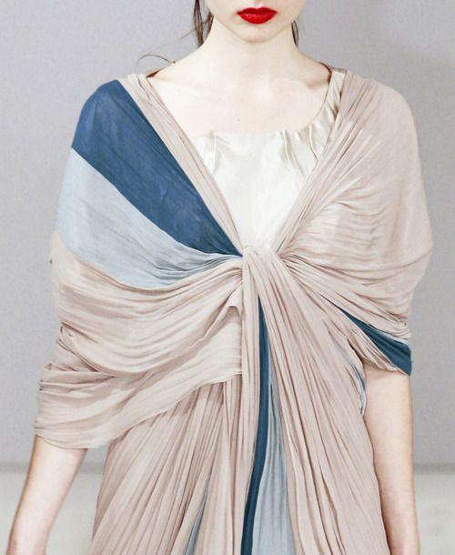 dramatic draping, atsuro tayama s/s 2010