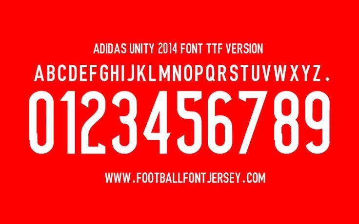 Adidas font 2014