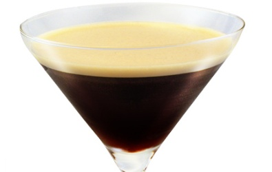 The original espresso martini recipe was founded at The Pharmacy, Notting Hill in the late 1990s by Dick Bradsel. A modern twist on the classic martini recipe, 30ml  Cariel Vanilla Vodka , 30ml Kahlua , 30ml Chilled Espresso Shot 5ml Sugar Syrup & Ice. An ideal combination of Alcohol and coffee http://bit.ly/I9nLcQ