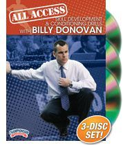 All-Access Skill Development & Conditioning Drills with Billy Donovan - Coach's Clipboard #Basketball DVD Store