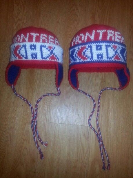 My first Habs hats