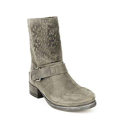 Felmini - Damen Schuhe - Verlieben Raisa 9025 - Cowboy & Biker Stiefelette - Echte Leder - Grün - 40 EU Size - Stiefel für frauen (*Partner-Link)