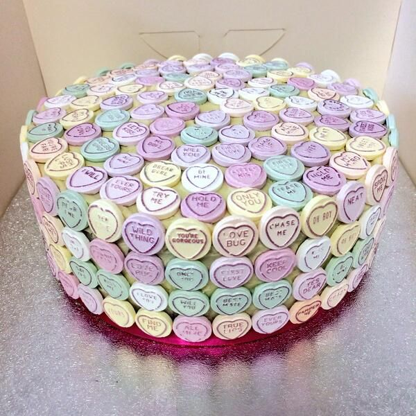 Love Heart Cake Images : 12 best images about Swizzels Cakes on Pinterest Sweet ...