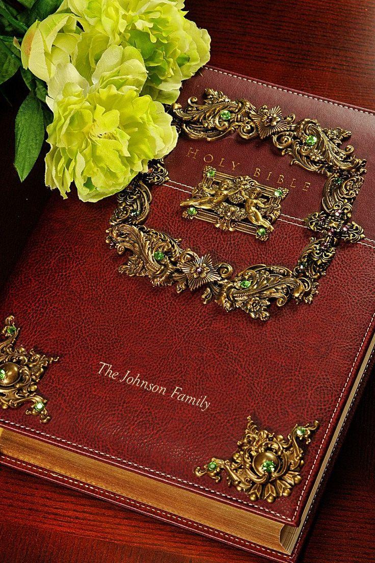 Jeweled Swarovski® Crystal Family Bible NIV – Celebrate Faith