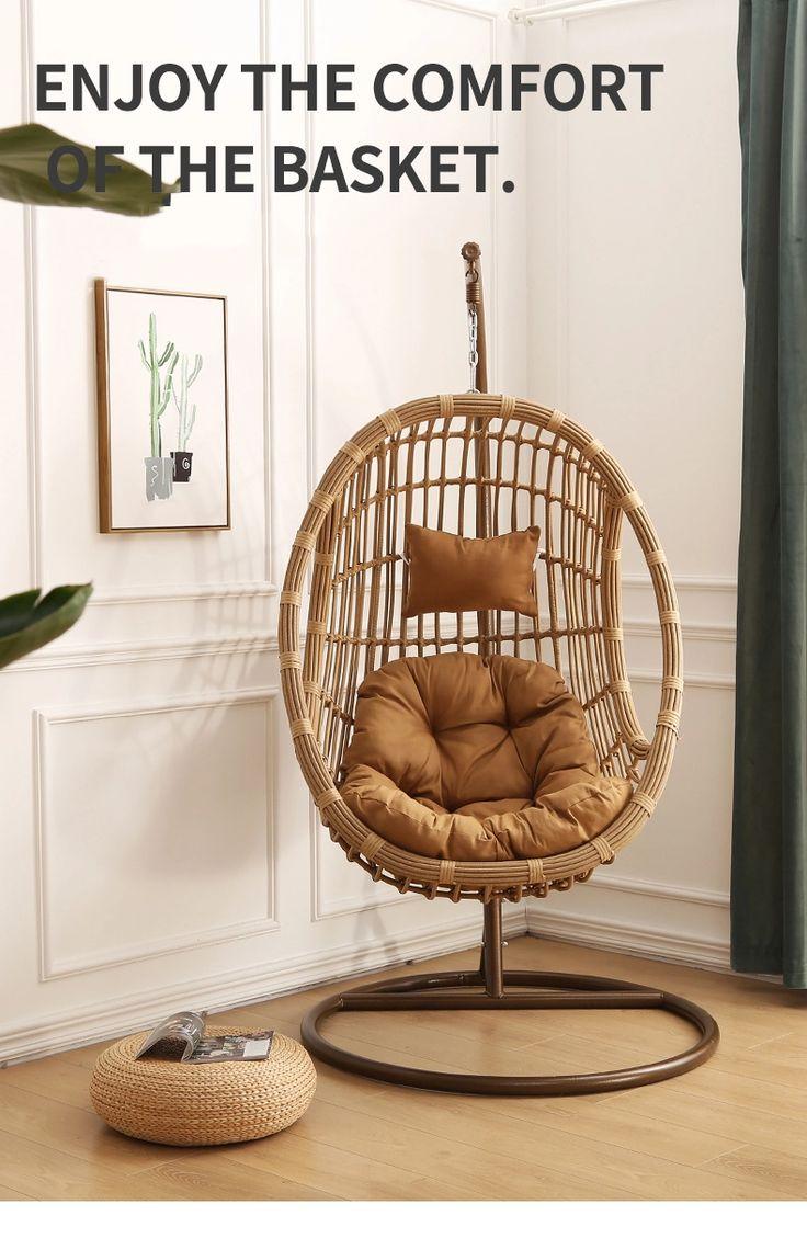 Indoor Furniture Hanging Nest Swing Basket Swing Egg Swing