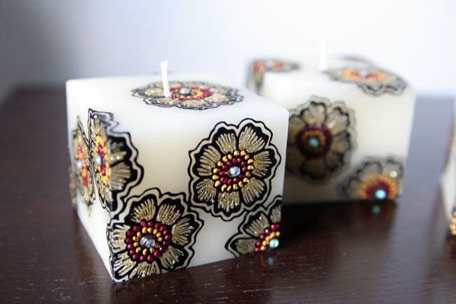 ... london my candles more decorative candles henna designs candle