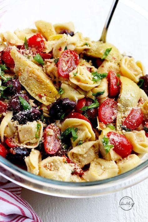 Tortellini-Nudelsalat   – healthy foods