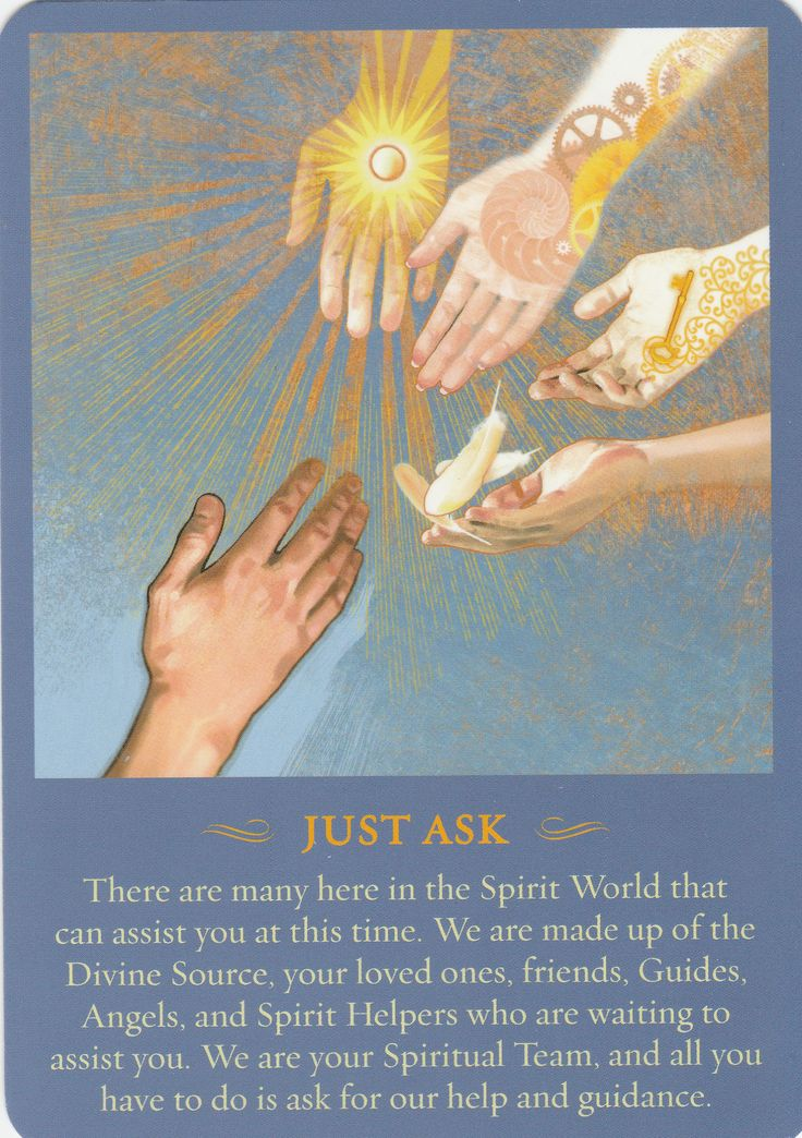 THE SPIRIT MESSANGES DAILY GUIDANE ORACLE DECK JOHN HOLLAND ~ I genuinely feel like I've been watched over and protected my entire life.