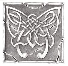 irish celtic art - symbol of strength and rebirth