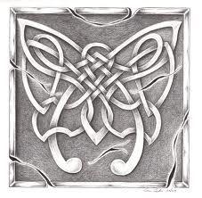 irish celtic art - symbol of strength and rebirth