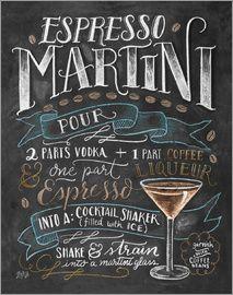 Lily & Val - Espresso-Martini-Rezept