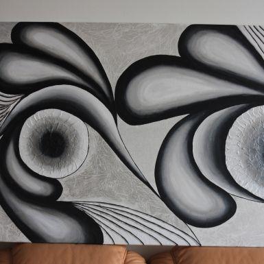 Abstraktný obraz na mieru - Bibiana za 120€ | Jaspravim.sk
