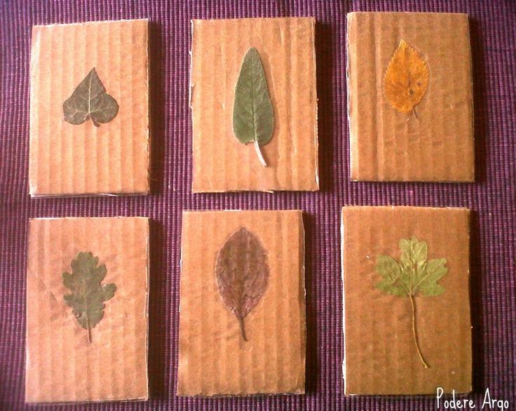 Memory con foglie