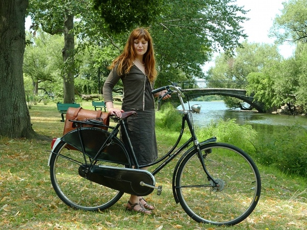 By the River with Gazelle by Lovely Bicycle!, via Flickr
